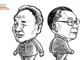 """邓小平与蒋经国:""""绝代双雄""""的隔岸竞跑"""
