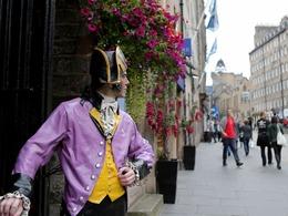 苏格兰公投街景趣味百态