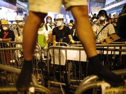 对话前激进派挑动暴力不可忍