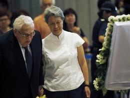 23国政要出席李光耀国葬
