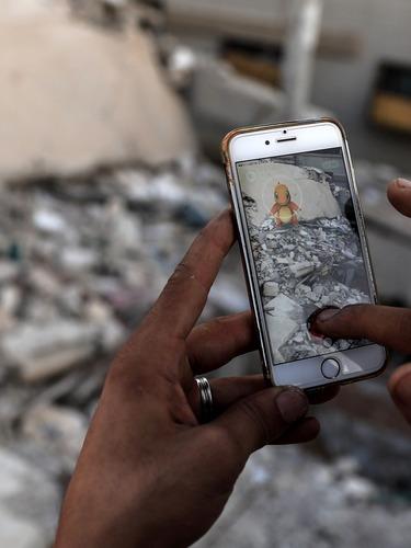 叙利亚废墟上的Pokemon Go
