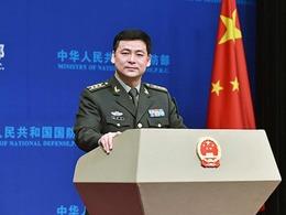 中国国防部新发言人谈美航母巡南海