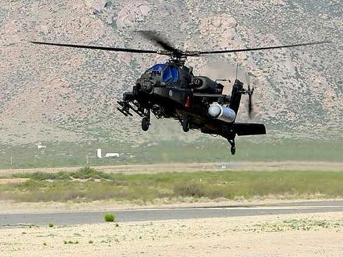 """美军给""""阿帕奇""""装激光炮进行试验"""